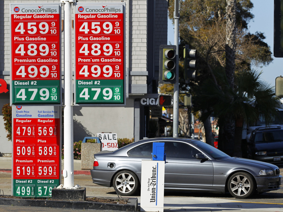 How big a role do U.S. presidents really play in controlling gas prices? Prices were well over $4 a gallon in La Jolla, Calif. on March 8.