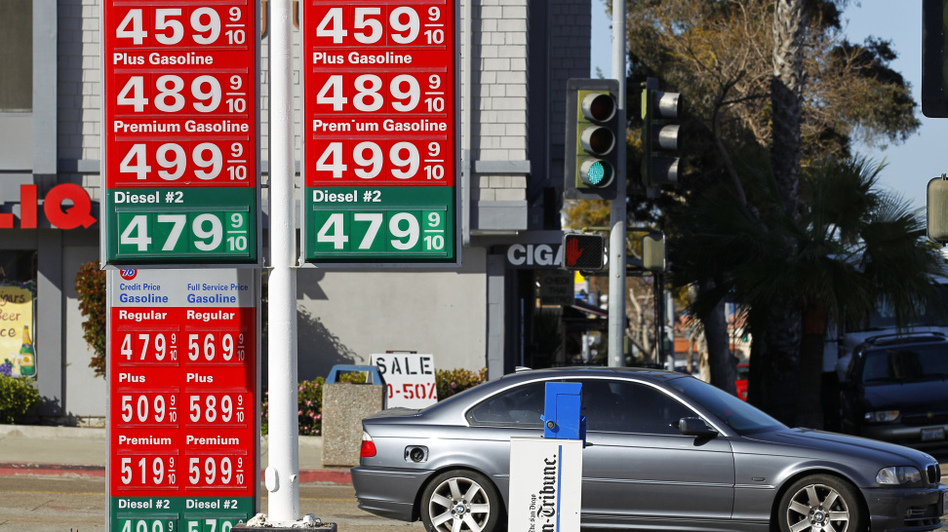 How big a role do U.S. presidents really play in controlling gas prices? Prices were well over $4 a gallon in La Jolla, Calif. on March 8. (Reuters /Landov)