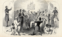 Richardson's 1865 woodcut Proclamation Emancipation