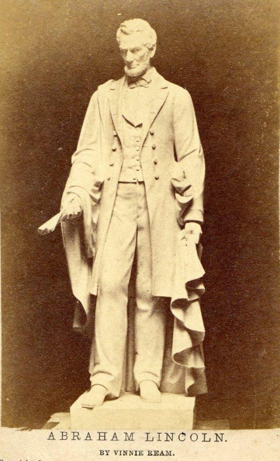 Vinnie Ream's statue of Abraham Lincoln