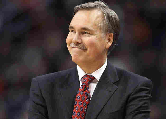 Head coach Mike D'Antoni of the New York Knicks during the NBA game against the Phoenix Suns at in January.