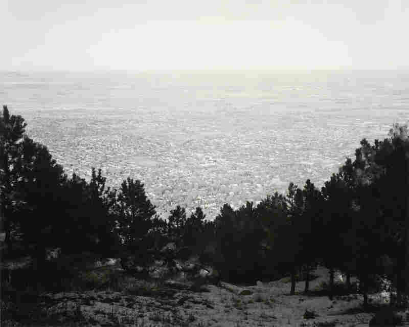 Northeast from Flagstaff Mountain, Boulder County, Colorado, 1975