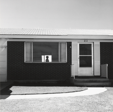 Though curator Joshua Chuang says Robert Adams is, in a sense, trying to make