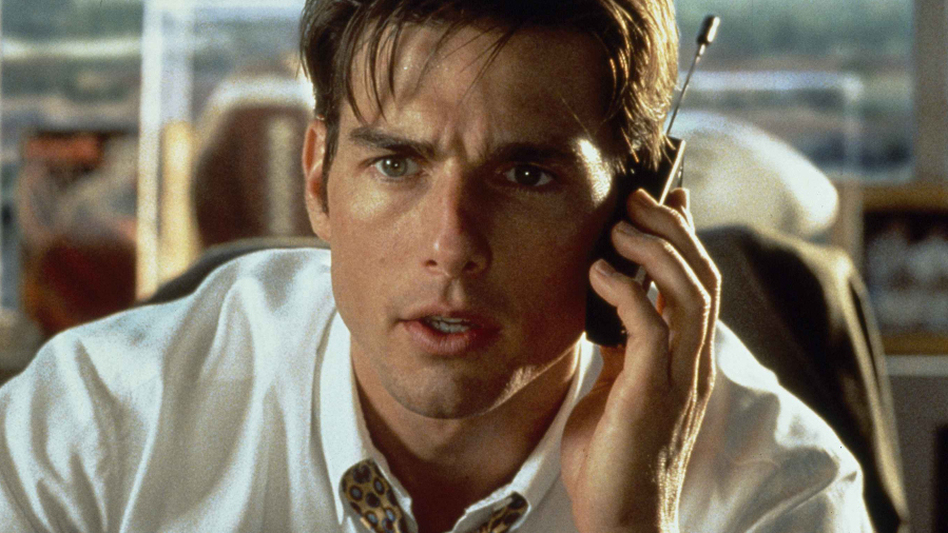 Tom Cruise as disillusioned sports agent Jerry Maguire (AP)