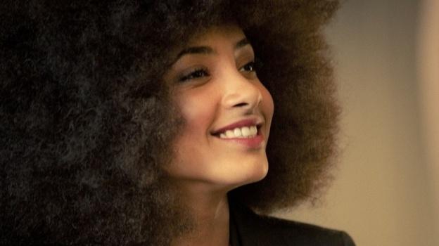 Esperanza Spalding's new album, Radio Music Society, comes out March 20. (Courtesy of the artist)