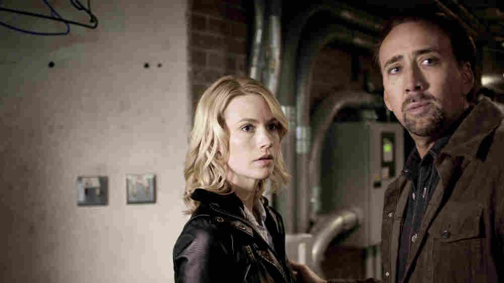 Quid Pro Quo: High-school English teacher Will Gerard (Nicholas Cage) and his wife Laura (January Jones) dodge the operatives of a shadowy New Orleans vigilante organization after Will makes a deadly deal with a mysterious man.