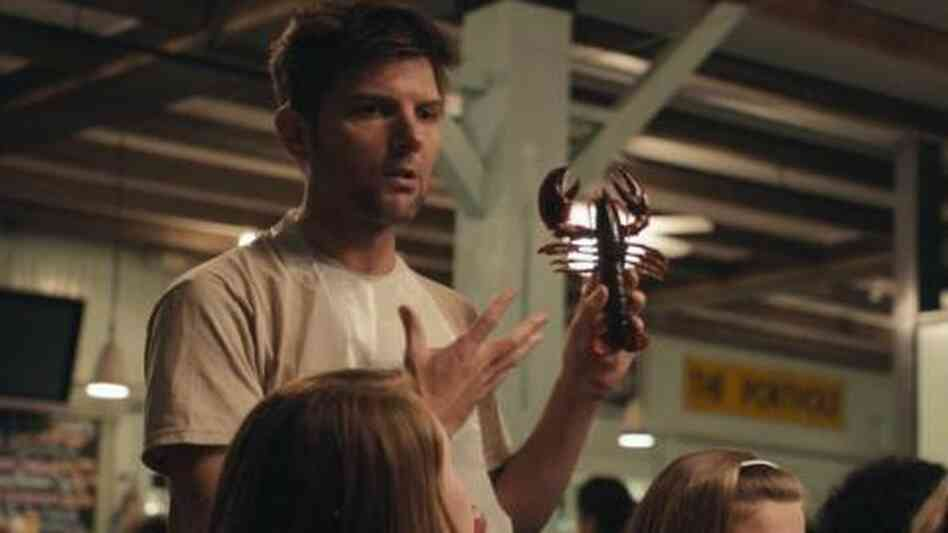 Adam Scott plays a man who works with lobsters and dreams of his old girlfriend in See Girl Run.