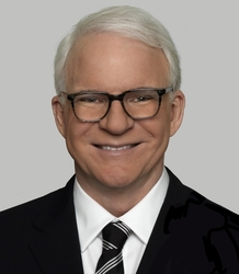 Steve Martin has won two Grammys for his comedy albums. His film credits include Father of the Bride, Parenthood and The Spanish Prisoner.