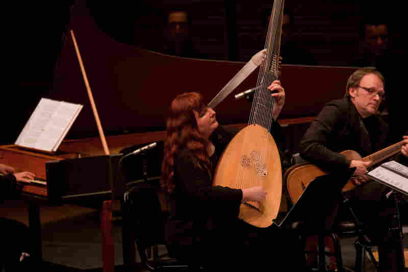 """L'Arpeggiata's artistic director and lutenist Christina Pluhar insists on improvisation. """"We always leave ourselves the possibility of not sticking to what we have planned,"""" she says."""