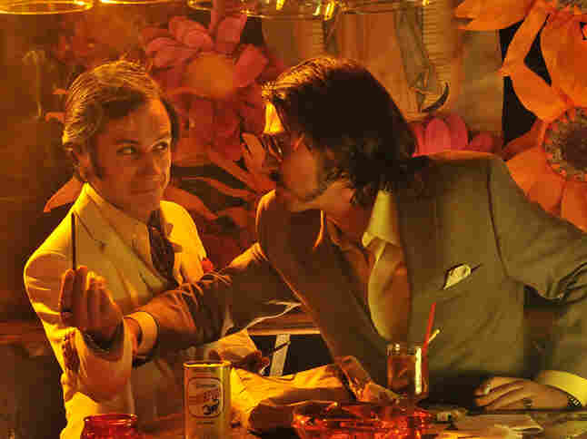 Raul (Diego Luna, right), the drug-dealing younger brother of Ferrell's Armando, endangers the family ranch when he runs afoul of Mexican drug kingpin Onza (Gael Garcia Bernal, left).