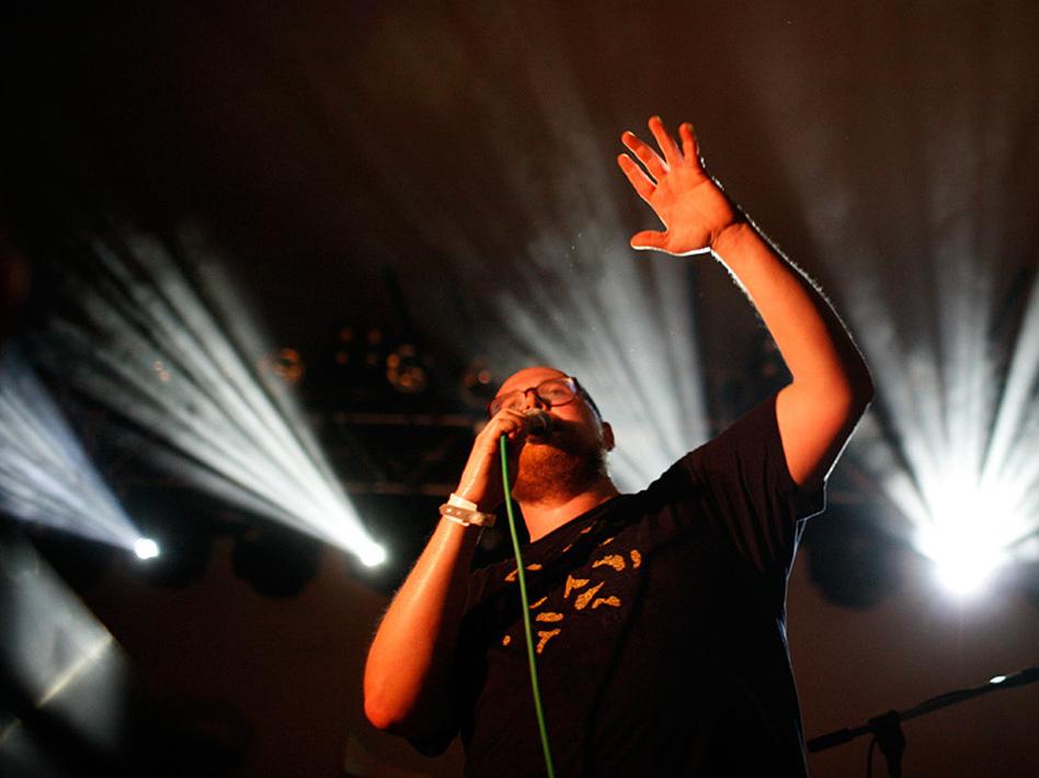 Dan Deacon plays NPR Music's SXSW showcase at Stubb's Wednesday night.