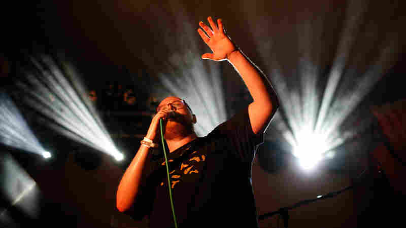 Dan Deacon plays NPR Music's SXSW showcase at Stubb's Wednesday night.