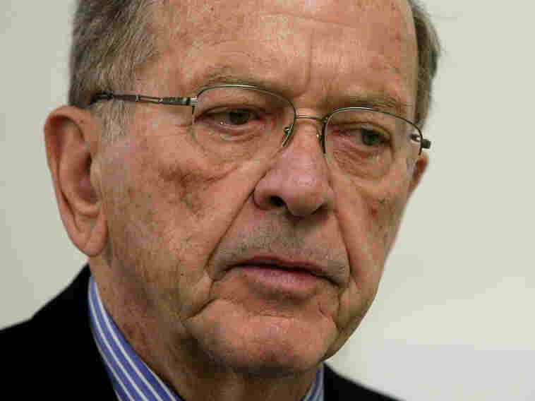 Then-Sen. Ted Stevens, R-Alaska, in 2008.