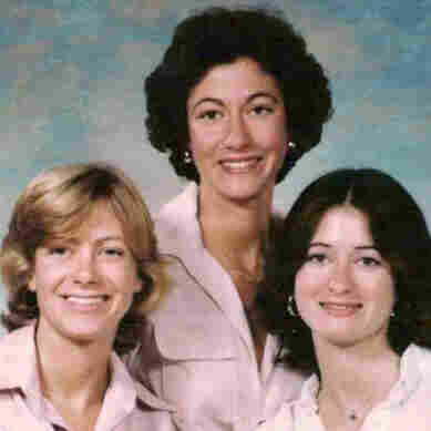 The three Leibman sisters, from left: Abby, Nina and Marjorie Shaw.