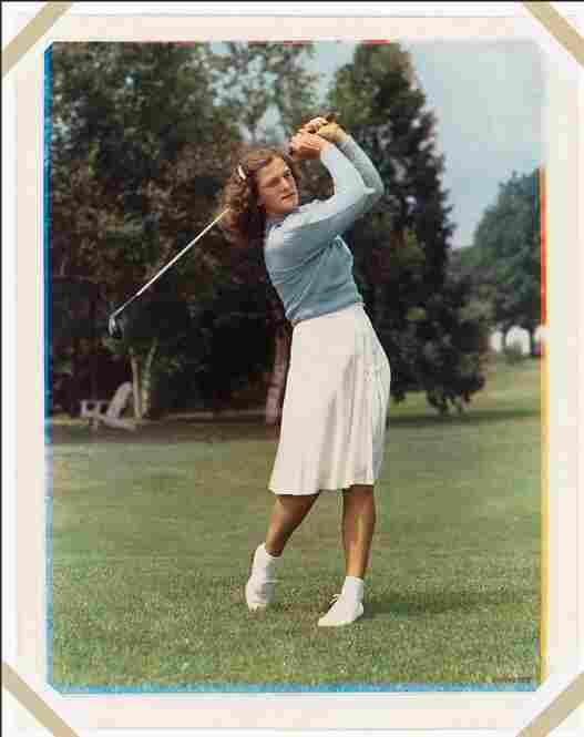"""""""Babe"""" Didrikson, 1947"""