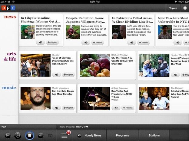 NPR News iPad App