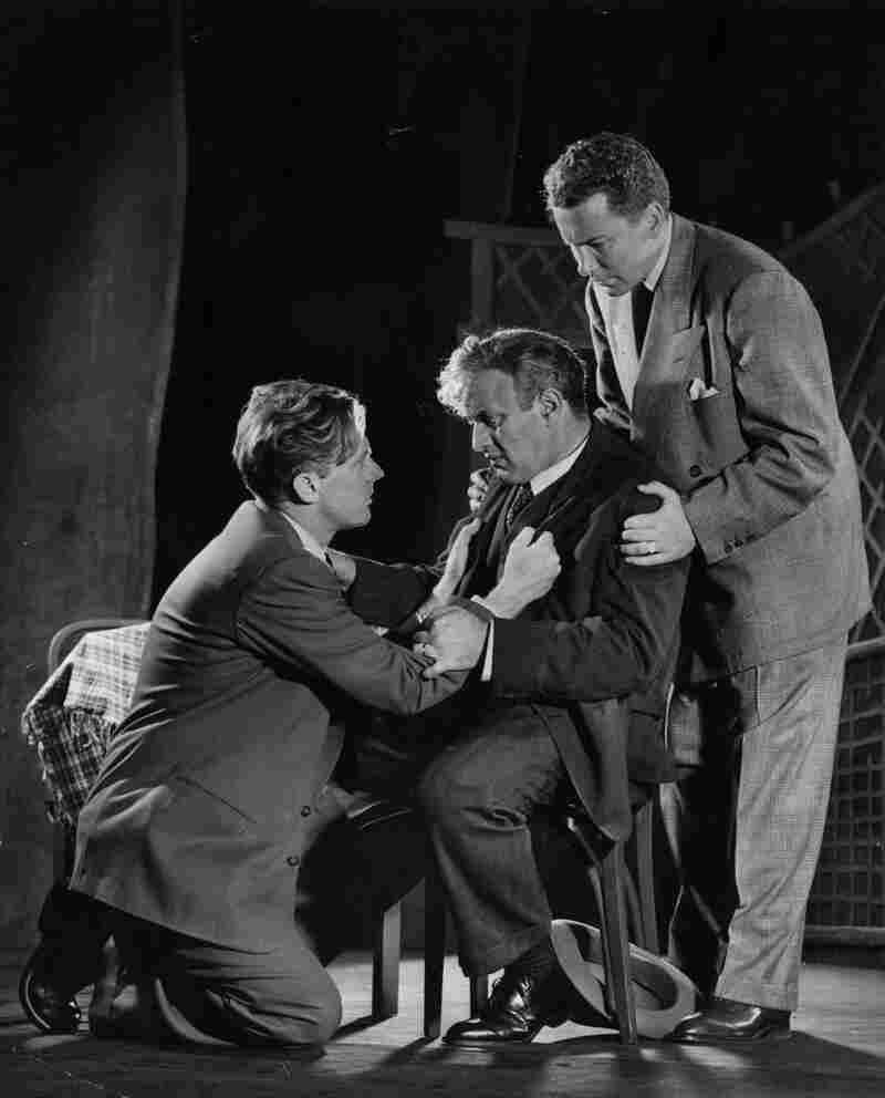Lee J. Cobb (center) starred in the original, 1949 Broadway production of Death of a Salesman.
