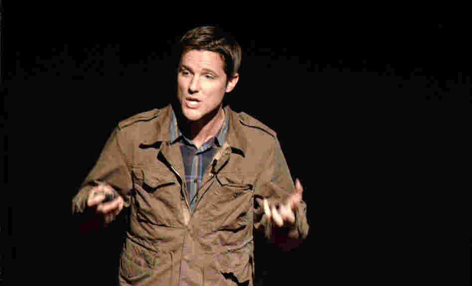 Jason Russell of Invisible Children speaks at TEDxSanDiego in December 2011.