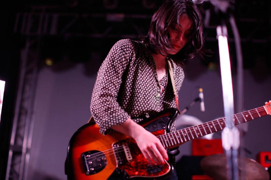 Sharon Van Etten, a singer-songwriter based in Brooklyn, built a brooding set on stealthy rock underpinnings at NPR Music's SXSW Showcase. Her new album is called Tramp.