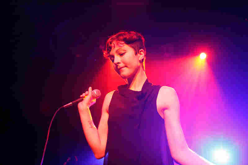 Polica's stage show was a welcome jolt of beauty and power in contrast to the shimmery debut album, Give You the Ghost.