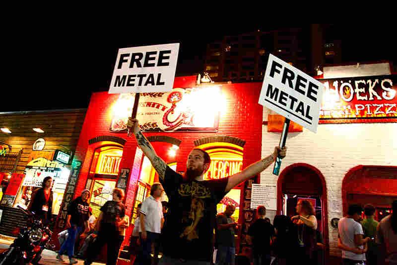 Free metal from what? FREE METAL FROM WHAT, I ASK.