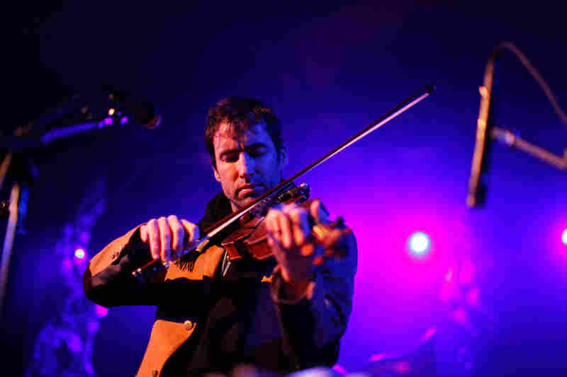 The violinist Andrew Bird — also a composer, and singer and accomplished whistler — headlined NPR Music's SXSW Showcase. He performed largely from his new album, Break It Yourself, but also found space for older classics.