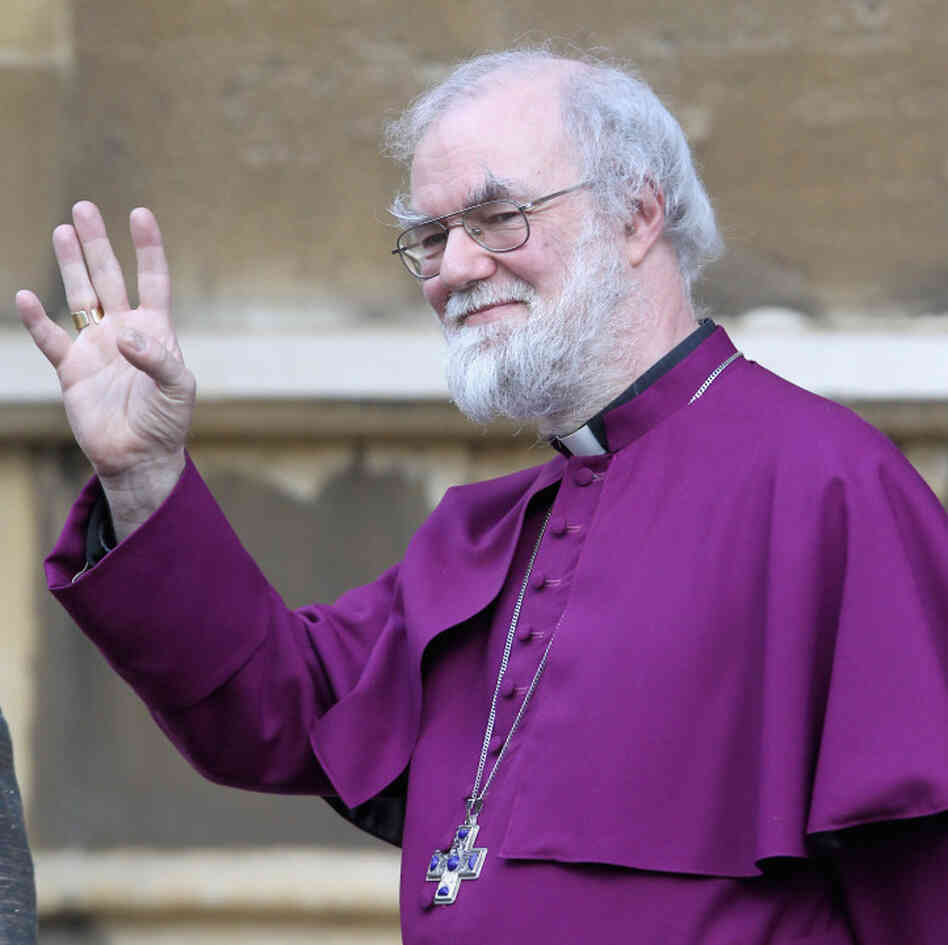 Archbishop of Canterbury Rowan Williams in February.
