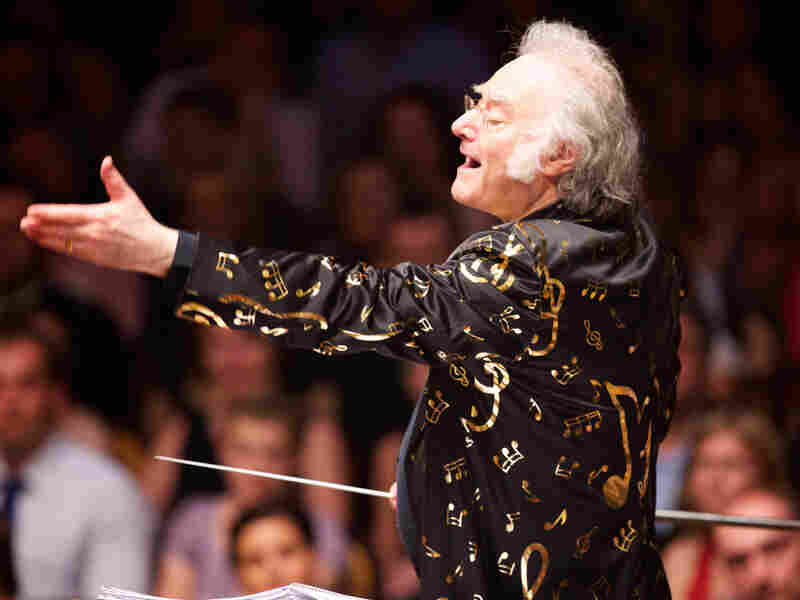 Davis, composer of the score for Brownlow's restoration of Napoleon, will also conduct the Oakland East Bay Symphony at the event. Davis promises to wear the jacket pictured above.