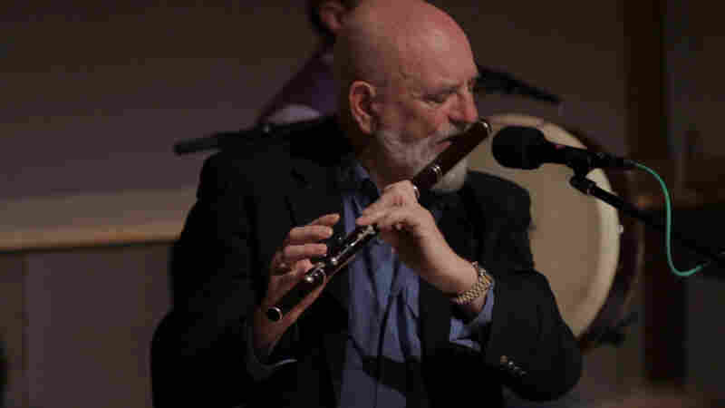 The Chieftains' longtime flutist Matt Molloy in action.