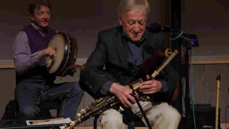 The Chieftains' Old Guard, making music for 50 years:  Kevin Conneff and Paddy  Moloney.