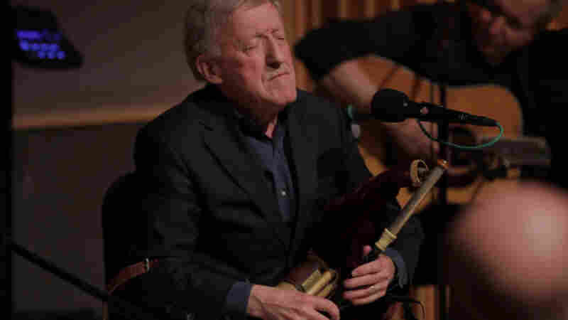A soulful moment on the Uilleann pipes from Paddy.