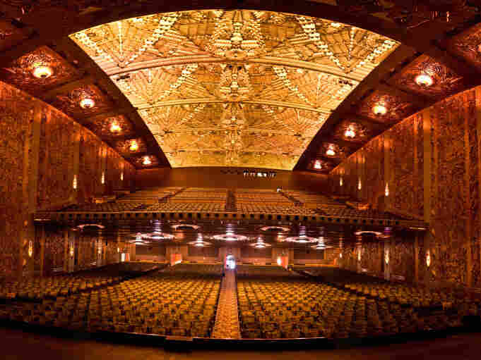 Napoleon will screen four times only at the Art Deco auditorium of Oakland's historic Paramount Theatre.