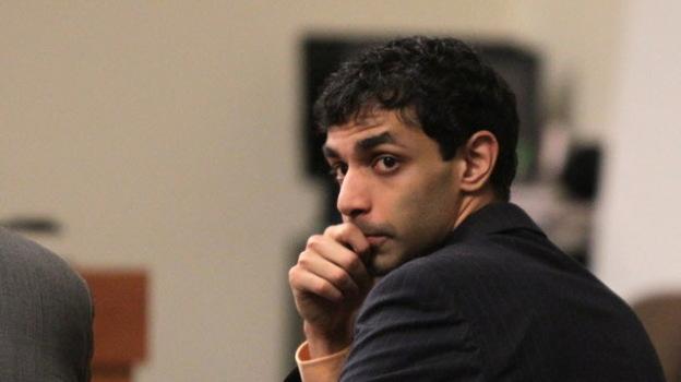 Dharun Ravi in court on Wednesday. (AP)