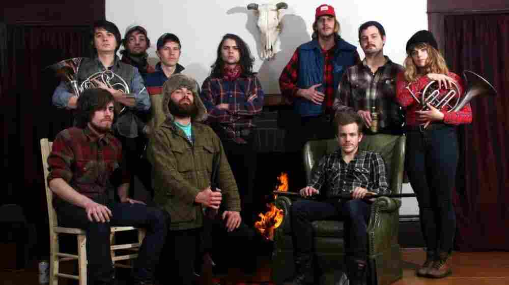 Typhoon is an up-and-coming Portland collective known for its particular orchestration.