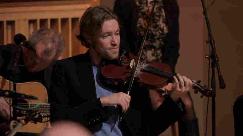 Fiddler Jon Pilatzke.