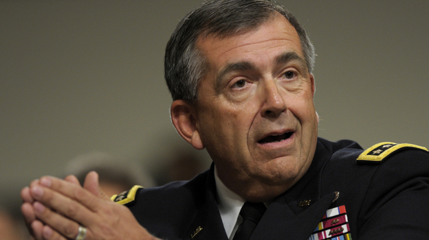 Gen. Peter Chiarelli, former vice chief of staff for the U.S. Army, says the Army lacks reliable diagnostic tools to screen for mental health.  (AP)