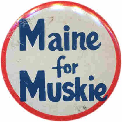 Muskie button