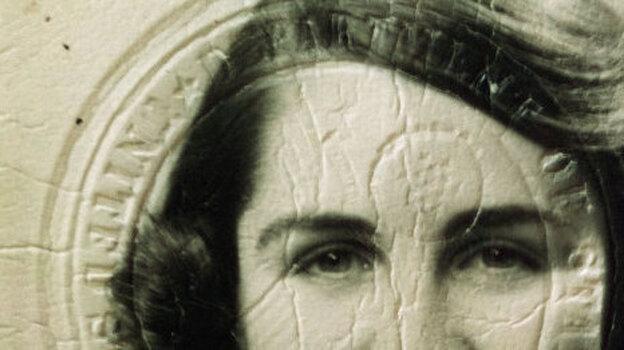 Betty Werther's passport photo from 60 years ago. (Courtesy Betty Werther)
