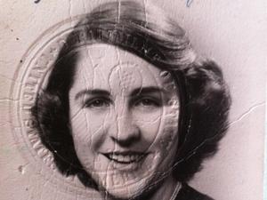 Betty Werther (then Elizabeth Hatfield) in the lost passport.