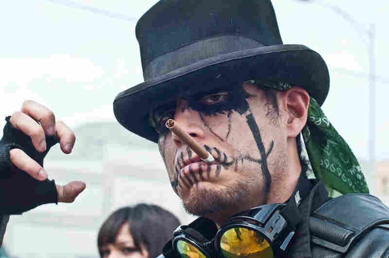 We didn't know that King Diamond had a cyberpunk little brother either.