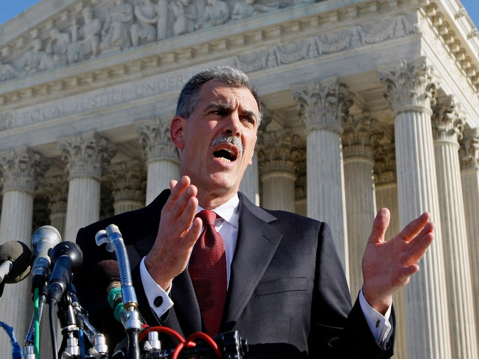 Solicitor General Don Verrilli grew up in Connecticut and received his law degree from Columbia Law School. (Mark Wilson/Getty Images)