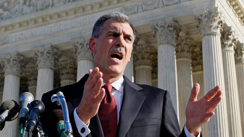 Solicitor General Don Verrilli grew up in Connecticut and received his law degree from Columbia Law School. (Getty Images)