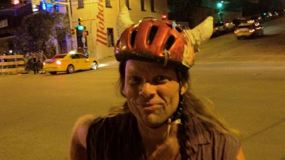 Thor is a member of Shearwater and Swans. I saw him biking down the street at SXSW. (NPR)