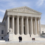 The U.S. Supreme Court Building is seen in Washington, Wednesday, Jan. 25.