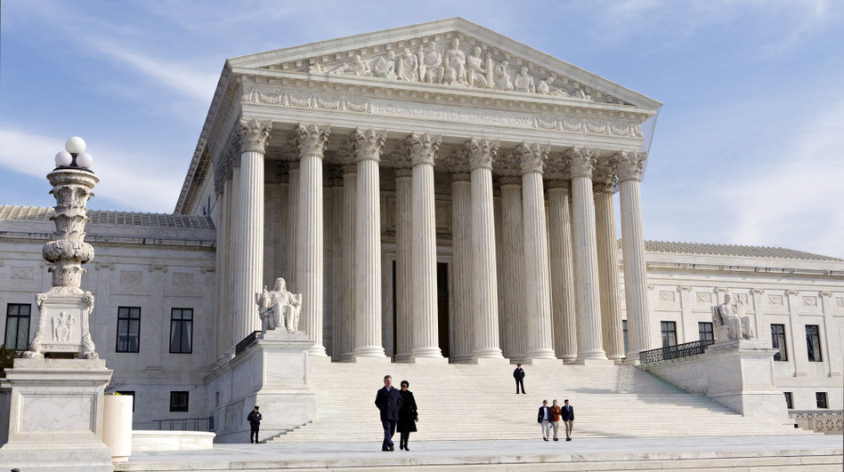 Justices heard arguments Monday in a case that attempts to reconcile modern in vitro fertilization technology with a 1939 law. (AP)