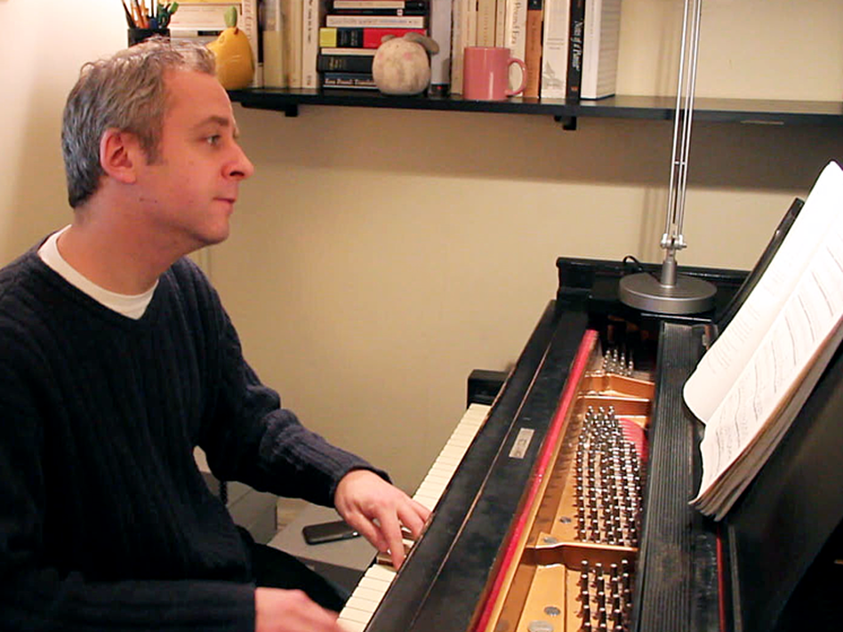 Jeremy Denk performs Bach's Goldberg Variations in his New York City apartment