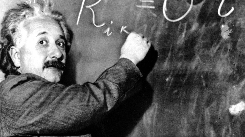 Albert Einstein. (AP)