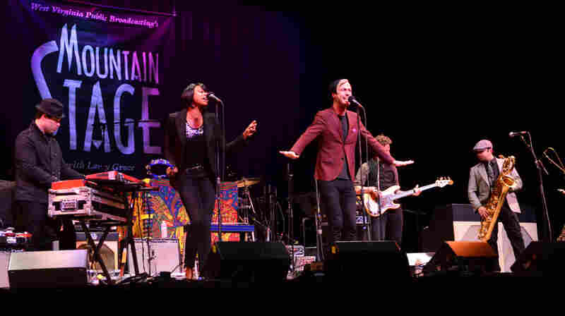 Fitz And The Tantrums On Mountain Stage