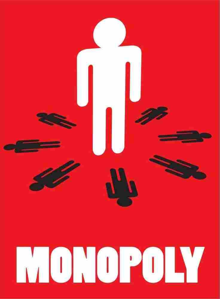 Minimalist Economics Posters: Monopoly