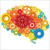 A colorful brain